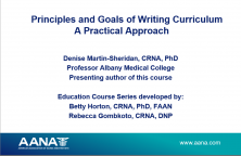 Educator Series: Principles and Goals of Writing Curriculum